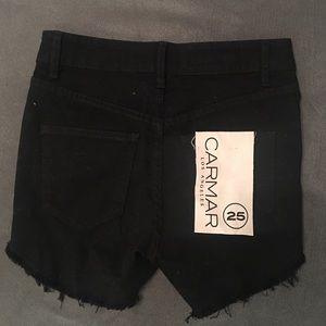 Carmar Jean shorts black